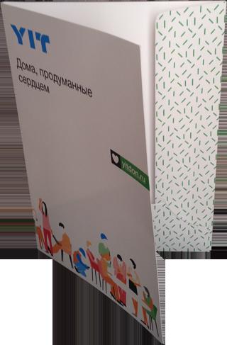 Папка с логотипом YIT в Ростове-на-Дону