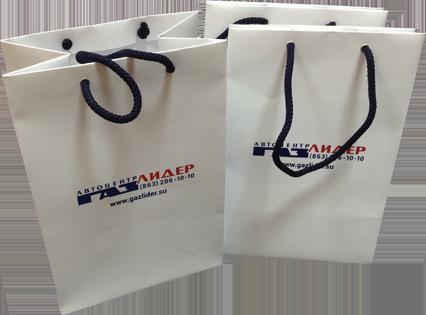 производство пакетов с нанесением логотипа