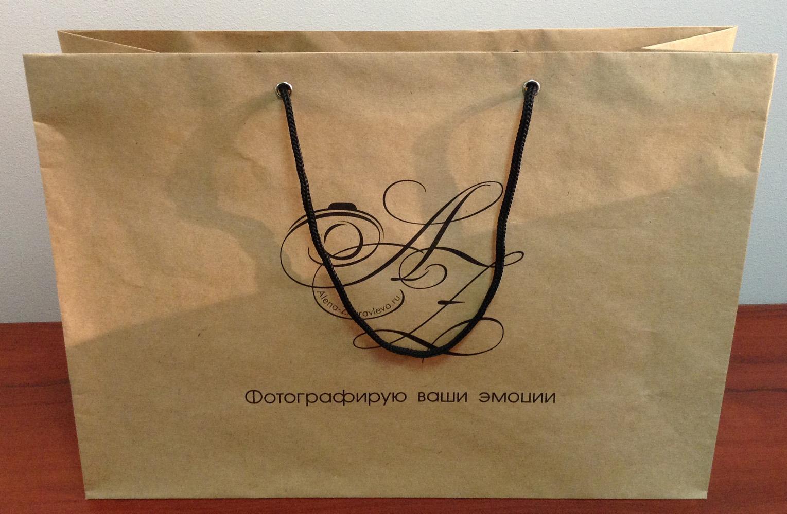 Пакеты из крафт бумаги в Ростове