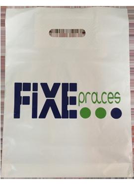 пакеты и ценники с логотипом