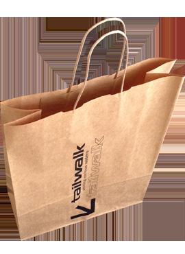 Подарочный пакет с логотипом москва