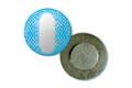Круг с бортиком Д20мм серебро