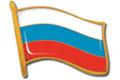 Заливные значки Флаг 30х25 мм